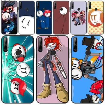 Diseny The henry stickmin collection Phone Case For Huawei Y5 Y6 Y7 Y9 Prime 2019 Enjoy 7 8 9 10 Plus image