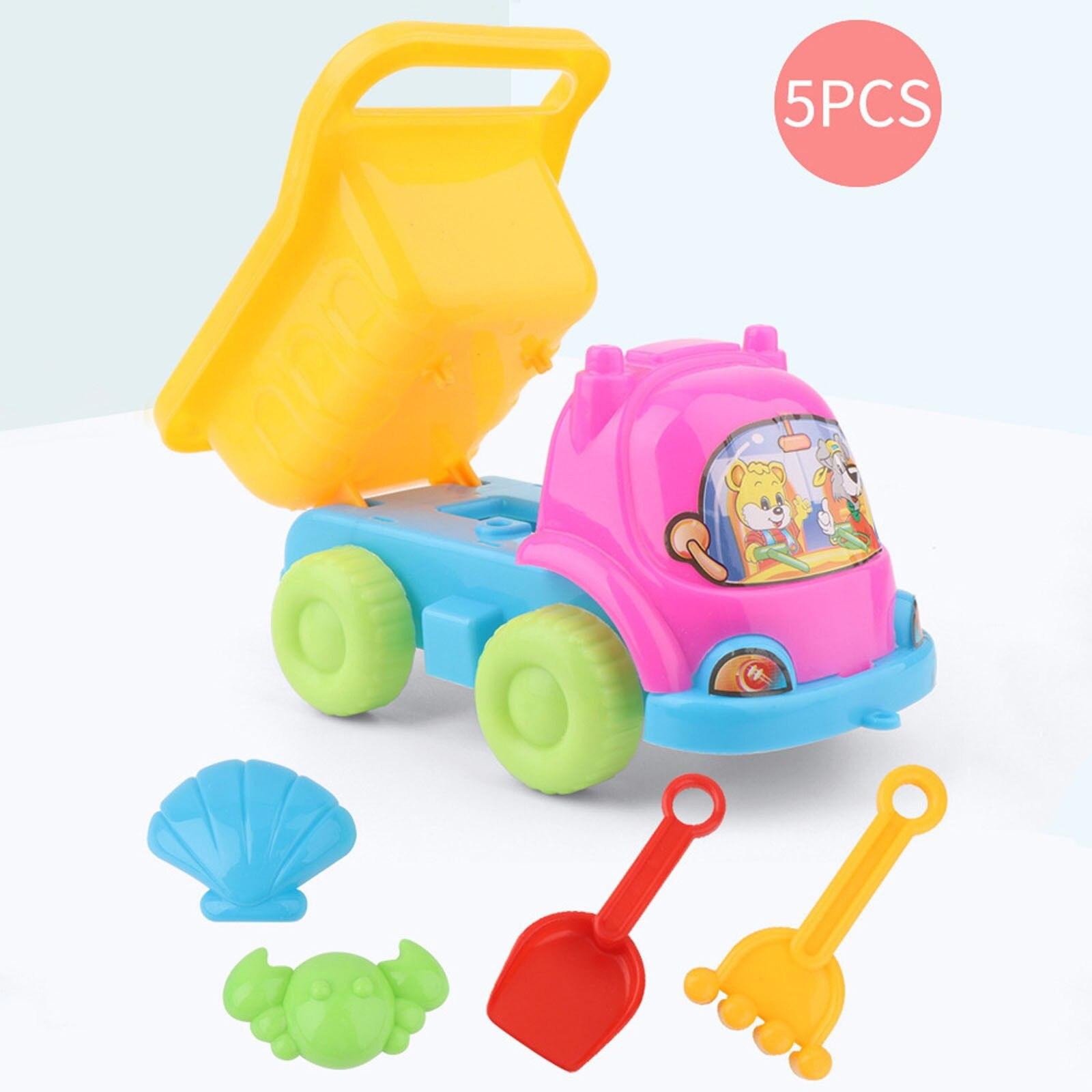 5 Pcs Beach Toy Sand Set Sand Play Sandpit Toy Summer Outdoor Toy Children Sandbox Set Kit Summer Toy For Beach Play Sand Water