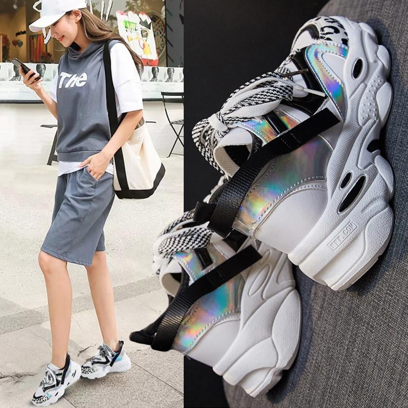 Women Sneakers Running Sports Shoes Woman Platform Shoes Zapatos De Mujer Feminino Teacher Sneakers Trainers Women Baskets Femme