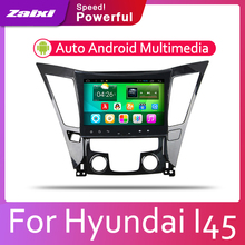 ZaiXi Android 2 Din Car radio Multimedia Video Player auto Stereo GPS MAP For Hyundai Sonata I45 2009~2014 Media Navi Navigation недорого