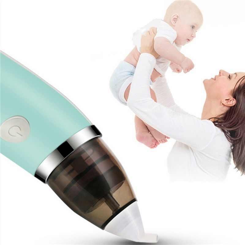 CYSINCOS ベビー鼻吸引器電気安全衛生鼻クリーナーベビーケアノーズ先端口腔鼻水吸盤新生児のための幼児
