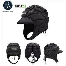 Wosawe Футбол шлем вратаря Спортивная Регби Кепка защита головы