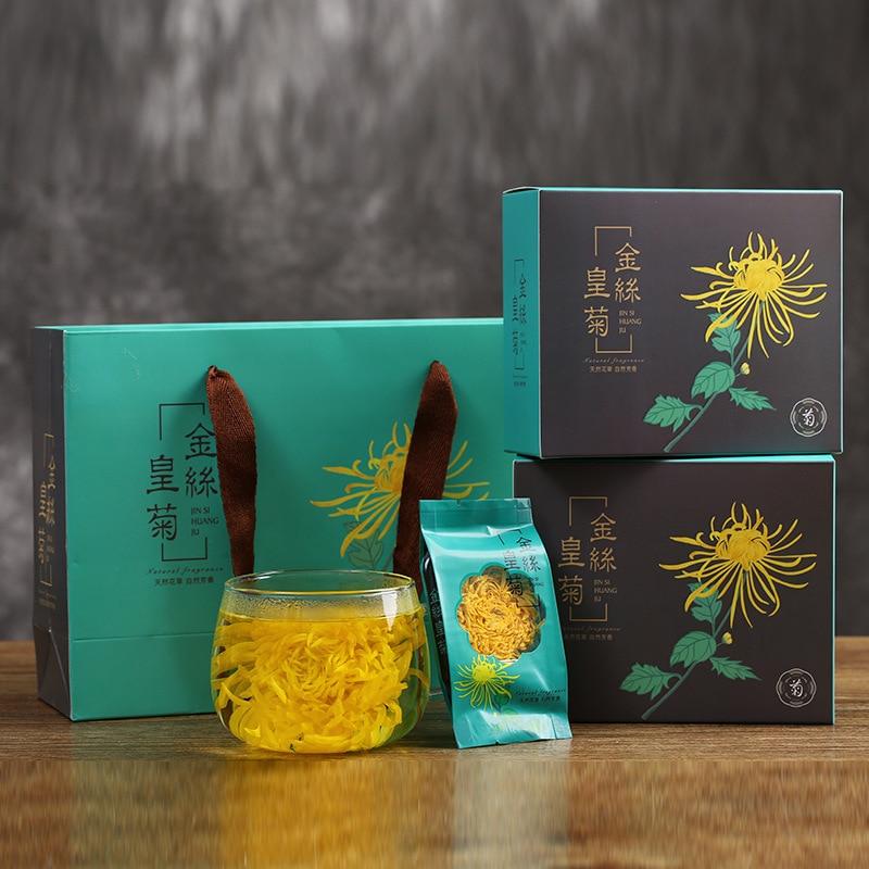 New Flower Chrysanthemum Supply of Goods Large Yellow Chrysanthemum Tea Clearing Away Heat Tea Leaf Manufacturers Wholesale