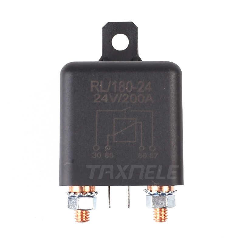 Relais de démarrage RL280 200A 12V 24V 48V 60V 72V puissance automobile relais lourd relais de démarrage à courant élevé relais 12v