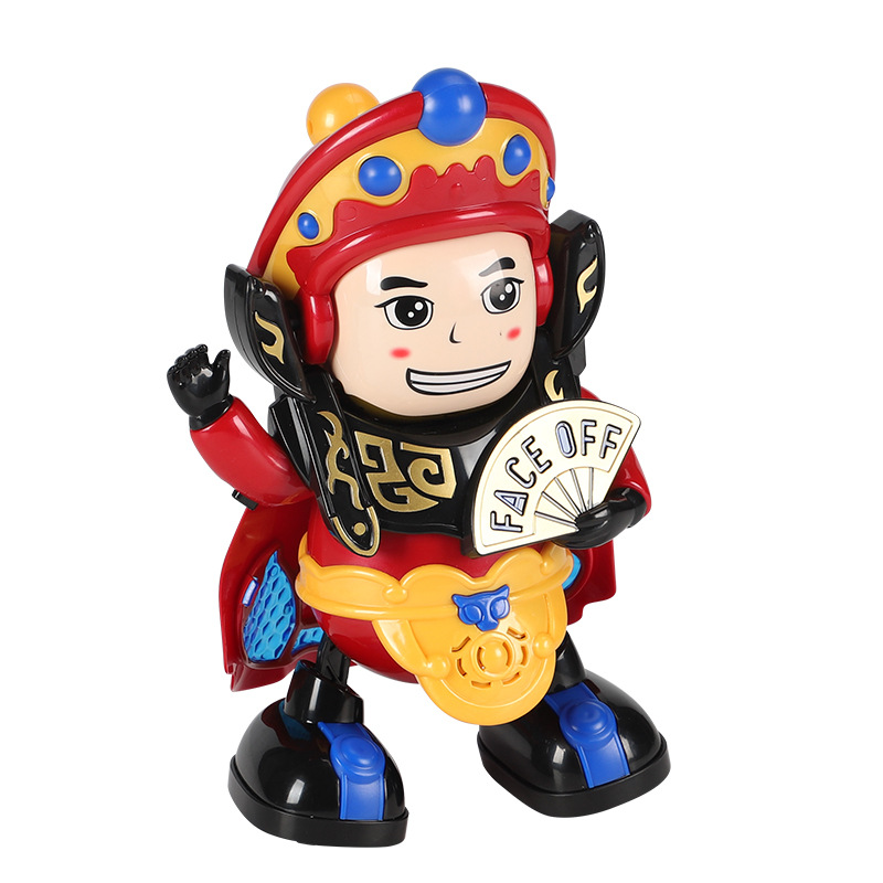 Electric Dancing Robot Face Changing Robot Doll Automatic Face Changing Sichuan Opera Face Changing Doll Shaking Electric Toy