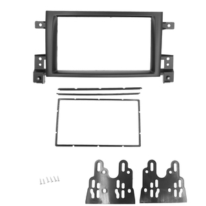 Image 3 - 2 Din Frame for Suzuki Grand Vitara 2005~2017 Douuble Din Radio Fascia DVD Panel Dash Kit Installation Frame Trim Bezel