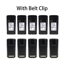 10 Pcs Li-Ion Battery Extended for Motorola CP185, CP476, CP477, EP350 Radio(s) (Li-on 1800mAh)