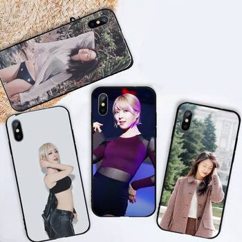Чехол для телефона Seol Hyun Kpop Aoa Sexy Girl для iPhone 11 12 mini pro XS MAX 8 7 6 6S Plus X 5S SE 2020 XR image