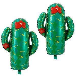 Image 3 - Meksykańskie balony na imprezę dekoracje świąteczne dostawy Party TACO około miłość Party Fiesta kaktus hel balony foliowe TacoTwosday