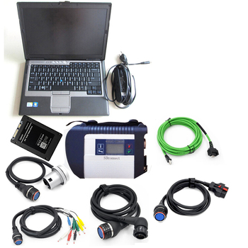 2019 mb star Diagnostic tool MB STAR C4 sd connect and D630 4GB laptop with 2019.12 full softtware HDD SSD for mb star c4 D630