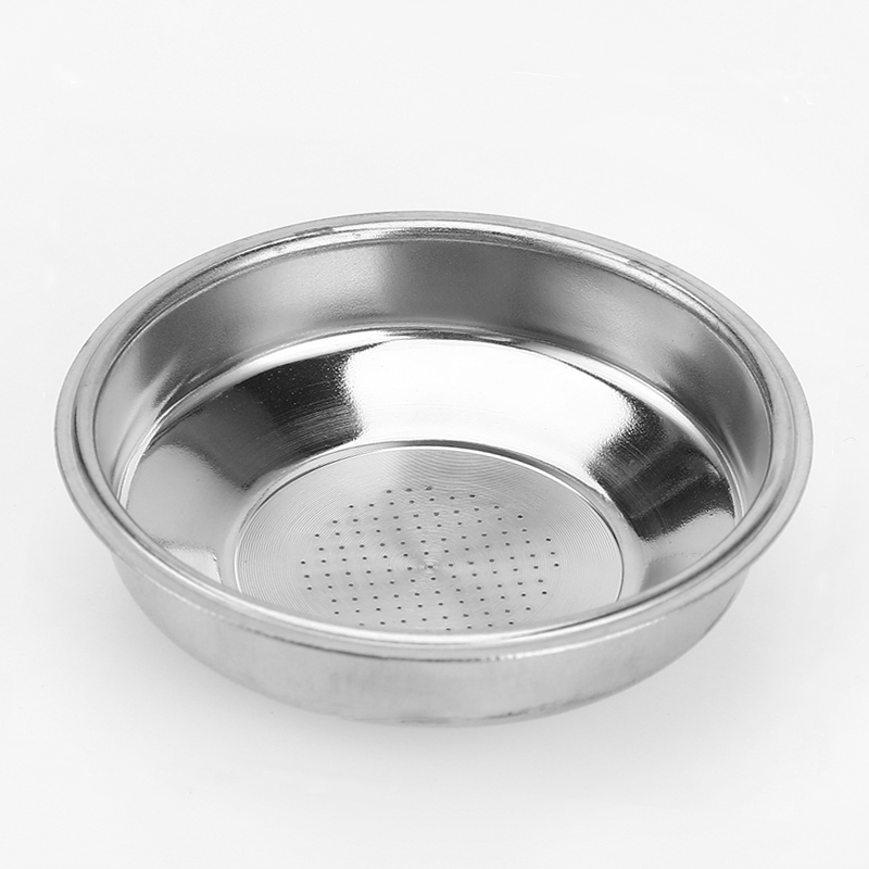 Stainless Steel 51mm Coffee Tea Filter Basket For Espresso Coffee Machine Accessories Non Pressurized Single Double Powder Bowl