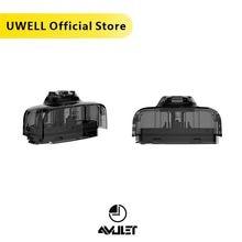 UWELL Amulett Pod 5 Packs 10 Pcs in insgesamt 2ml Kapazität 1,6 ohm Nachfüllbare Pod E zigarette Vape pod System