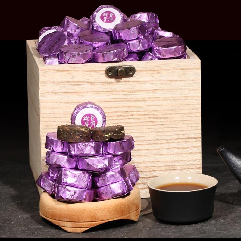 Small Yunnan Ripe Tea Pu-Erh Mini Tea 500g/One Box