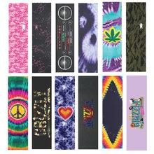 1PC 9*33 inch Lastest Design Skateboard Griff band Silizium Hartmetall Skate Griptapes Professionelle Skateboard Schleifpapier