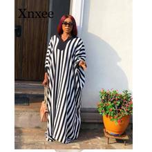 African Long Maxi Dresses Women Dashiki Traditional dress Sleeve  floor length loose size vintage