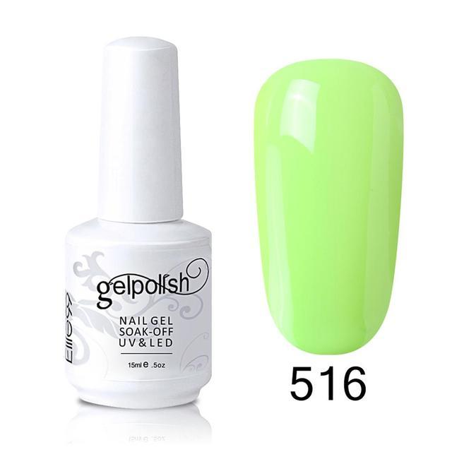 Elite99 15ml Sommer Farbe UV Gel Nagellack Top Basis Mantel Benötigt Tränken Weg Nagel Gel Lack Lack DIY nail art Maniküre Gel