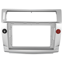 2 Din Car Radio Face Plate Frame for Citroen C Quatre 2004 2009 Car DVD GPS Player Panel Dash Mount Kit Car Accessories