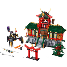 2019 Ninja Set Toys Battle for Ninjago City Compatible Legoines Ninjagoes 70728 Building Blocks 1223 Pcs Bricks Children Gift