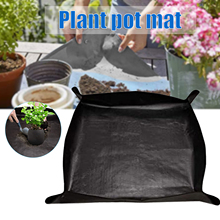 Plant Repotting Mat Gardening Foldable Anti Dirty Succulent Potting Tarp Square Mat For Garden Outdoor INTE99