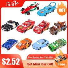 سيارات ديزني بيكسار 2 3، ألعاب أطفال، للأولاد, عربة دييكاست بمقياس 1:55، مصنوعة من سبائك معدنية؛ الرعد، ماكوين، ماتر، جاكسون، ستورم، راميريز؛ هدايا الكريسماس