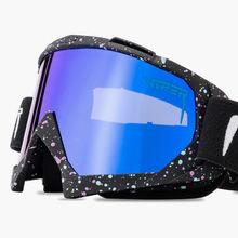 Двухслойные незапотевающие лыжные очки uv400 для катания на