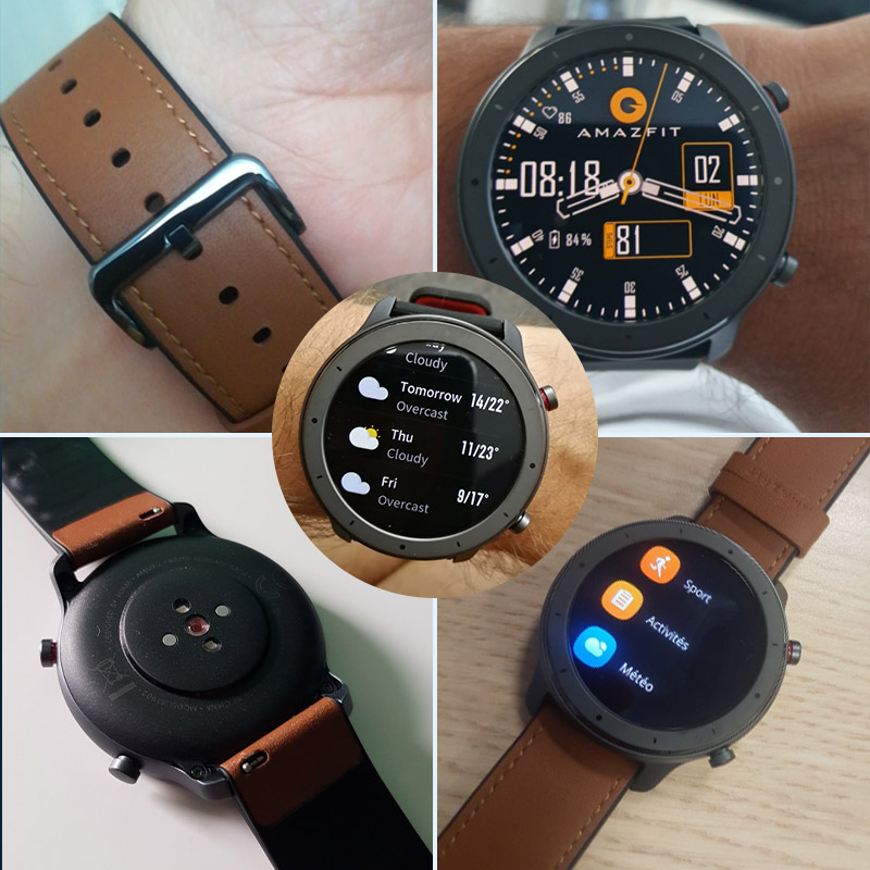 Image 5 - 2019 Amazfit GTR 47mm Smart Watch with GPS 5ATM Waterproof 24 Days Battery Life 12 sports mode Bluetooth AMOLED Screen -in Smart Watches from Consumer Electronics