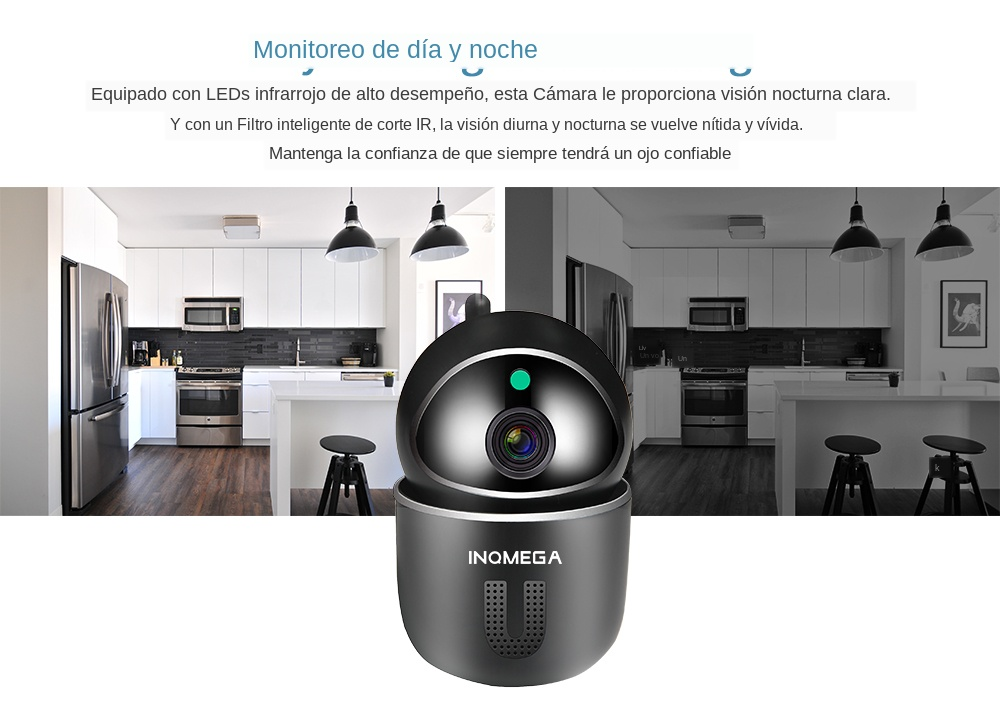 High Resolution Baby Monitor With Auto Tracking Mini Camera For Your Child Safety 12