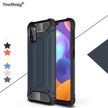 Do Samsung Galaxy A31 przypadku, odporna na wstrząsy gumowe Anti-knock etui do Samsung Galaxy A31 pokrywa dla Samsung A31 przypadku Youthsay