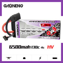 Gaoneng GNB 6500 мА/ч, 4S 15,2 V 130C HV тонкие жесткие чехлы LiPo Батарея пакет XT90 EC5 разъем для 1:8 1/8 RC автомобиль четыре привод внедорожный Лодка