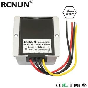 Image 2 - RCNUN convertisseur de batterie 8 36V à 12.6/13.8V DC, 10a, chargeur de batterie au Lithium, au plomb acide, pour système à double batterie