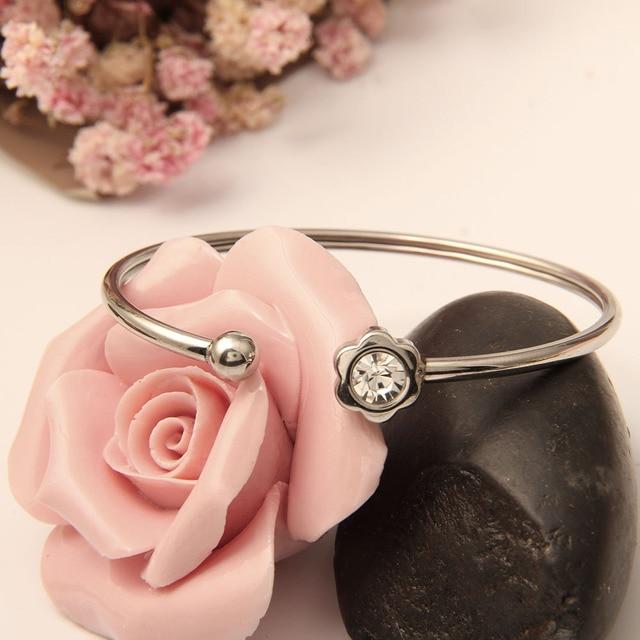 Женский браслет dlcaylun регулируемый эластичный из стальной