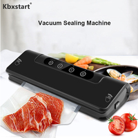 100 240V Electric Vacuum Sealer Dry And Wet Kitchen Vacuum Packaging Machine Food Vacuum Sealing Machine With 15Pcs Bags
