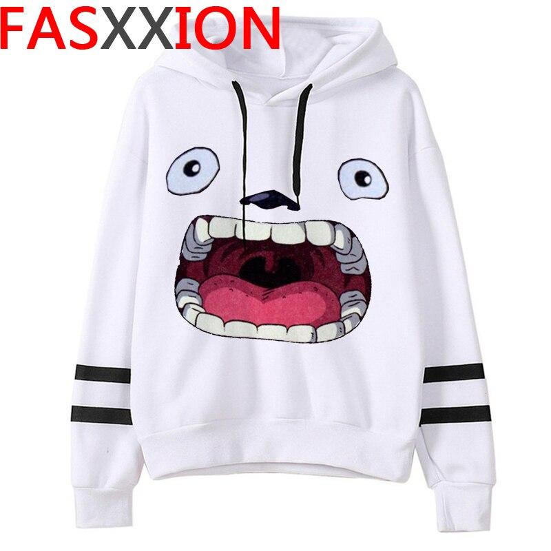 Totoro Studio Ghibli hoodies women streetwear grunge femme hoody sweatshirts hip hop streetwear 27