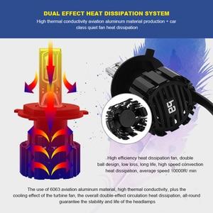 Image 4 - Ampoule pour phares de voiture, ers P9 LED H4 H7 LED, 100W Hi/Lo, faisceau H11 H8 H9 HB4 Auto phare LED H13 D2S D4S HID 13600LM
