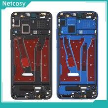 Netcosy Huawei onur için 8X orta çerçeve plaka çerçeve muhafazası kapağı için yan anahtar için Huawei onur 8X JSN L21 L42 AL00 L22 kapak