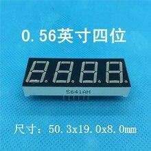 Display a Led 0.56 pollici 4Bit catodo comune/anodo tubo digitale Display digitale a LED rosso 7 segmenti 0.56 pollici quattro Bit sette segmenti