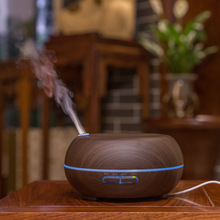 300ml Marble Grain LED Lights Essential Oil Ultrasonic Air Humidifier Electric Aroma Diffuser for Office Home Bedroom Yoga Spa