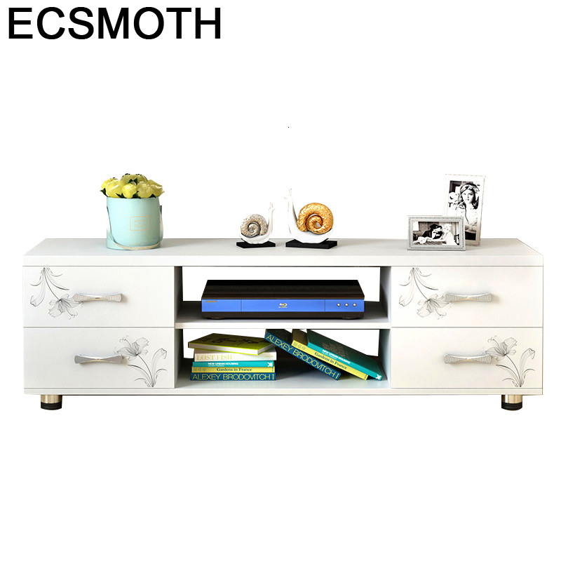 Bureau Ecran Plat Moderne Riser Soporte De Pie Wood Furniture European Wooden Mueble Table Meuble Monitor Stand Tv Cabinet