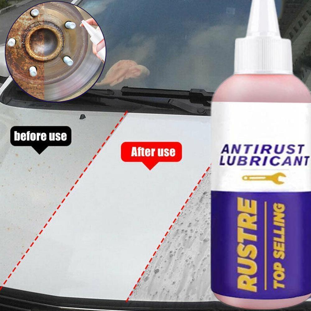 High Quality 80ml Rust Remover Window Rust Inhibitor Wheel Hub Screw Derusting Spray For Derusting Metal Parts Car Maintenance
