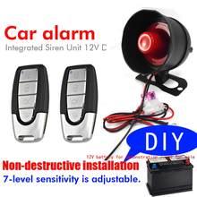 Dispositif d'alarme de voiture-dispositif d'alarme de Vibration Installation de coupe gratuite pour M810-8115 de camion de moto de voiture 12V