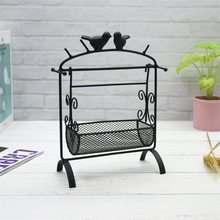 Northern European-Style Iron Art Swing Desktop Ornaments Living Room Library Creative Gifts Showroom Succulents Jewelry Storage(China)
