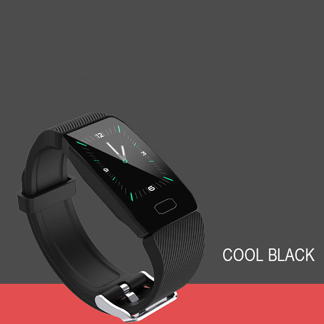 جديد سوار ذكي جهاز تعقب للياقة البدنية ضغط الدم مقاوم للماء سوار لياقة بدنية مراقب معدل ضربات القلب النشاط المقتفي SmartWatch الرجال