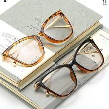 Fashion Women Eyeglasses Frame Men Optical Glasse Retro gafas mujer/hombre Luxury Design Glasses HL246