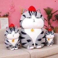 De viñetas de animales almohada muñeco de peluche Animal juguetes Kawaii gato almohada grande funda de cojín suave de peluche encantador niños Birthyday regalo