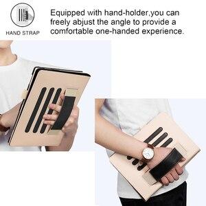 Image 3 - Для планшета Samsung Galaxy Tab S6 10,5 чехол, SM T860 SM T865, крышка для 2019 Samsung Galaxy tab S6 планшет Funda с держателем для рук