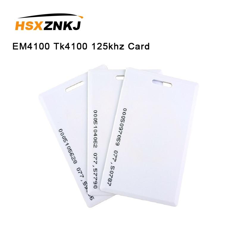 5pcs 1.8mm EM4100 Tk4100 125khz Access Control Card  Keyfob RFID Tag Sticker Key Fob Token Ring Proximity Chip