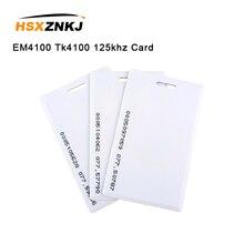 5шт 1,8 мм карточки em4100 карточка tk4100 125 кГц контроля доступа карты брелок RFID тег стикер брелок маркер кольцо проксимити-чип