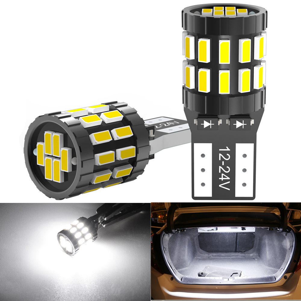 2x T10 W5W <font><b>LED</b></font> Canbus Bulbs 168 194 Car Parking <font><b>Lights</b></font> For VW <font><b>Golf</b></font> 4 <font><b>5</b></font> 6 7 Passat B5 B6 B7 Jetta MK4 MK5 MK6 Polo 6r CC Tiguan image