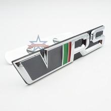 VRS автомобильные Логотипы модифицированный 3D Металл подходит для нового Skoda Octavia Crystal Sharp Hao Rui Xin Rui speed