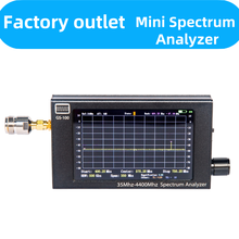 Frequency50-4400MHz 4.3Inch Portable RF Handheld Spectrum Analyzer Explorer With Measurement of Interphone 2.4Gwifi Signal GS100